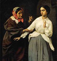 Николай Шильдер и его картина «Искушение»