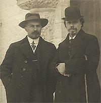 Творческий союз М.В.Нестерова и А.В.Щусева