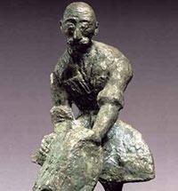 Скульптор Лазарь Гадаев Сага о человеке