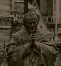 Скульптура Зураба Церетели в сердце Парижа